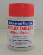 Sanjeevani Pharma, PROLAX, 30 Tablets, Gas Tablets, Constipation, Acidity