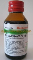 Baidyanath PUNARNAVADI TEL, 50ml, for Insect Bites & Related Problems