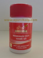 Sri Sri Ayurveda, RASANADI VATI, 30 Tablets, Anti Inflammatory, Analgesic