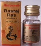 RASRAJ Ras (Ayurved Sar Sangraha) Baidyanath, 10 Tablets