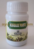 Charak REGULAX FORTE, 40 Tablets - Polyherbal Laxative