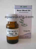 Dr. Jain's ROSE WOOD Oil, 10ml, Aphrodisiac, Heals skin & Stimulates