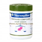 Sharangdhar, SHATAVARI COMPOUND, 120 Tablet, Harmonal Imbalance, Thyroid