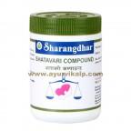 Sharangdhar, SHATAVARI COMPOUND, 120 Tablet, Harmonal Imbalance, Thyroid