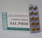 J & J Dechane, SAL PHOS, 100 Tablets, Appetite, Digestive Disorders