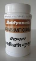 SAPTAVISHANTI Guggulu Bhaishajya Ratnavali Baidyanath, 20 g