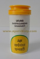 Unja Pharmacy, Sarpagandha Ghanvati, 60 Tablets