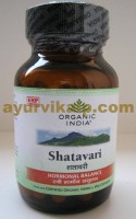 Organic India SHATAVARI, 60 Capsules, for Insufficient Lactation