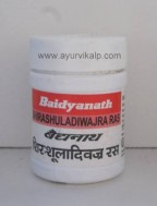 SHIRASHULADIWAJRA Ras (Bhaishajya Ratnavali) Baidyanath, 40 tablets, for in various types of headaches
