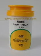 Unjha Pharmacy, SHONITARGAL RAS, 60 Tablets, Bleeding Piles & Diarrhoea