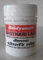SHOTHARI Lauh (Bhaishajya Ratnavali) Baidyanath, 40 Tablets