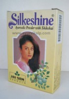 Jai Son Herbals, SILKESHINE Powder, 100 gm, Scalp Aiments & Hair Disorders