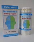 Herbal Hills, SMRUTIHILLS, 30 Soft Capsules, Memory Support