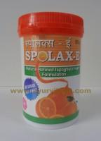 J & J Dechane, SPOLAX-E Powder, 125g, For Chronic Constipation
