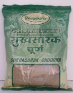 SUKHASARAK Choorna, Ayurveda Rasashala, 100 gm, For Gases And Acidity
