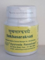 SUKHASARAK Vati, Ayurveda Rasashala, 30 Tablets, For Gases and acidity