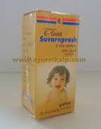 Ethichem,  E-Gold SUVARNPRASH WITH GOLD,  15ml, Child's Growth, Mental Growth Effectively