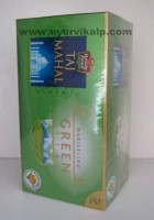 Brooke Bond TAJ MAHAL DARJEELING GREEN Tea, 25 Flavoured Tea Bags