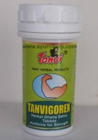 TANVIGOREX Tanvi Herbal, 30 Ghana Satva Tablets, For Strength