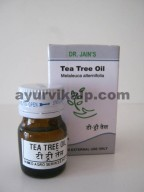 Dr. Jain's TEA TREE Oil, 5ml, Antifungal, expectorant, immunostimulant