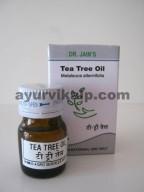 Dr. Jain's TEA TREE Oil, 5ml, Antifungal, expectorant, immunostimulant