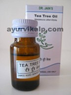 Dr. Jain's TEA TREE Oil, 10ml, Antifungal, expectorant, immunostimulant