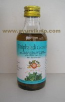 Arya Vaidya, Ayurvedic THRIPHALADI Coconut Oil, 200ml, Useful In Headache, Sinus Problems
