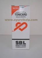 SBL Homeopathy, TONICARD Drops, 30 ml, Gold Drops