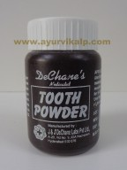 J & J Dechane, Medicated TOOTH POWDER, 50gm, Dental Care