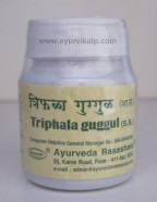 TRIPHALA Guggul, Ayurvda Rasashala, 60 Tablets,  Joint affections with stiffness.