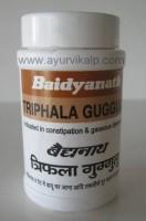 TRIPHALA Guggulu (Siddhayog Sangraha)  Baidyanath, 80 tablets