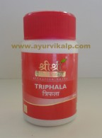 Sri Sri Ayurveda, TRIPHALA, 60 Tablets, Laxative, Urinary Disorder