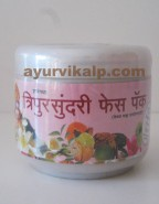 Sharangdhar TRIPUR SUNDARI Face Pack for Improves Skin Complexion