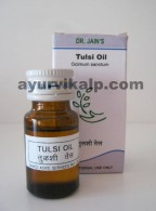 Dr. Jain's TULSI Oil, 10ml, Antibacterial, Prevent skin disease.