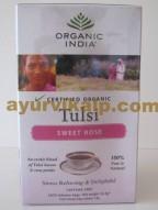 tulsi sweet rose tea | tulsi rose tea | rose tea
