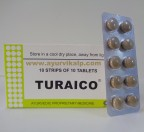 J & J Dechane, TURAICO, 100 Tablets, Diuretic, Urinary Antiseptic