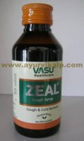 Vasu zeal cough syrup | ayurvedic cough syrup