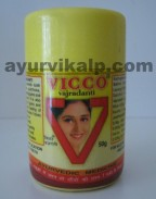Vicco VAJRADANTI Tooth Powder, 50gm, for Application on Gums & Teeth