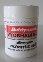 VYOSHADI Bati (Sharangadhar Samhita) Baidyanath, 40 Tablets