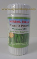 Herbal Hills, WHEAT-O-POWER, 120 Tablets, Green Food Suplement