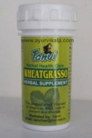 WHEATGRASSO Tanvi Herbal, 50 Ghana Satva Tablets, For Health Complaints