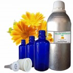 YELLOW MARIGOLD OIL, Calendula Officinalis, 100% Pure & Natural Essential Oil