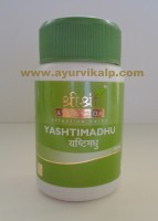 Sri Sri Ayurveda, YASHTIMADHU, 60 Tablets, Cough, Hyper-Acidity