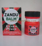 Zandu, ULTRA POWER Balm, 8ml For Cold, Sprains, Muscle Pain, Headache