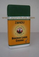 Zandu, BHASKAR LAVAN CHURNA 50g For Carminative & Laxative