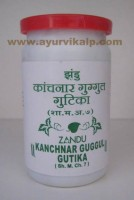 Zandu KANCHNAR GUGGUL 100 Tablets, Useful In Sinus & Fistula