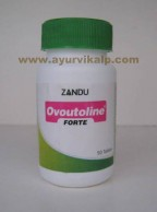 Zandu, OVOUTOLINE FORTE 50 Tablets, For Dysmenorrhoea, Irregular Menstruation