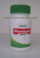 Zandu, RHUMAYOG FORTE 50 Tablets, For Arthritis and Other Musculo-Skeletal Disorders