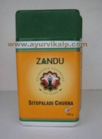 Zandu, SITOPALADI CHURNA 180g Used as Expectorant