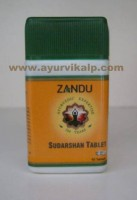 Zandu, SUDARSHAN TABLET, 40 Tablets, For Fever and Antimalarial